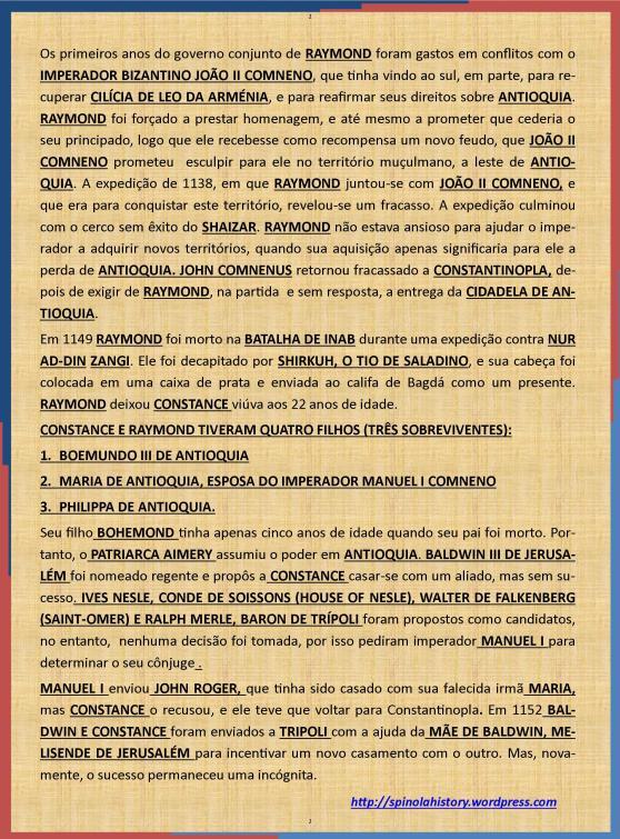 CONSTANCE DE ANTIOQUIA (1127-1163). 2